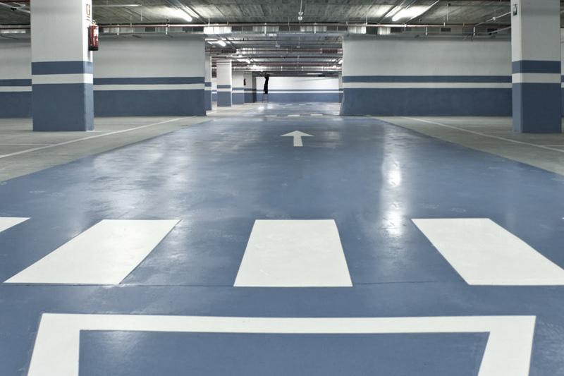 ¿Quieres pintar tu parking?