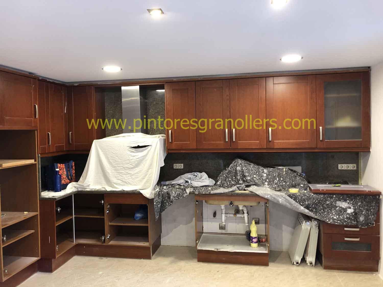 Muebles de cocina antes de pintar
